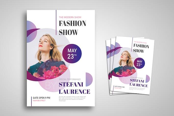 Thumbnail for Modern Fashion Show Promo Flyer