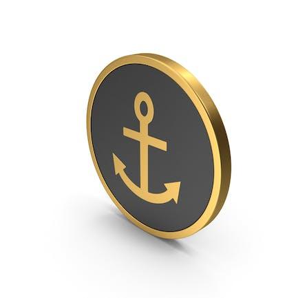Gold Icon Anchor