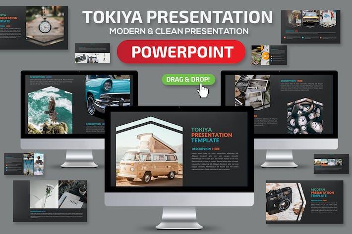 Thumbnail for Презентация Tokiya Powerpoint