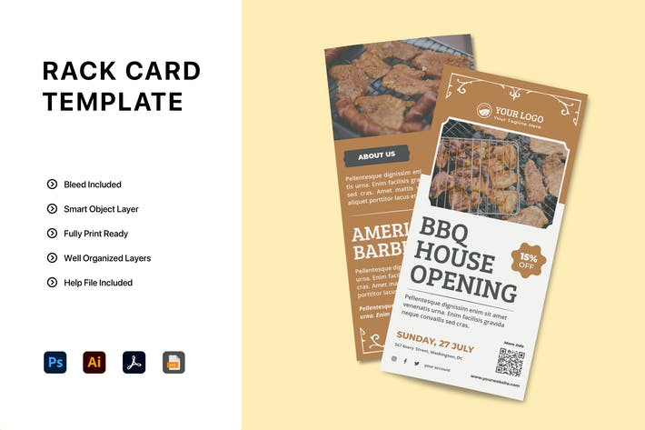 Thumbnail for Rack Card Brochure