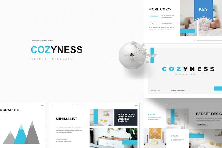Thumbnail for Cozyness | Keynote Template