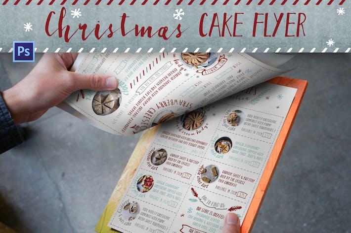 Thumbnail for Christmas Cake Shop Flyer