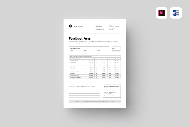Feedback Form - product preview 3
