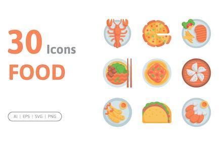 30 Food Icons