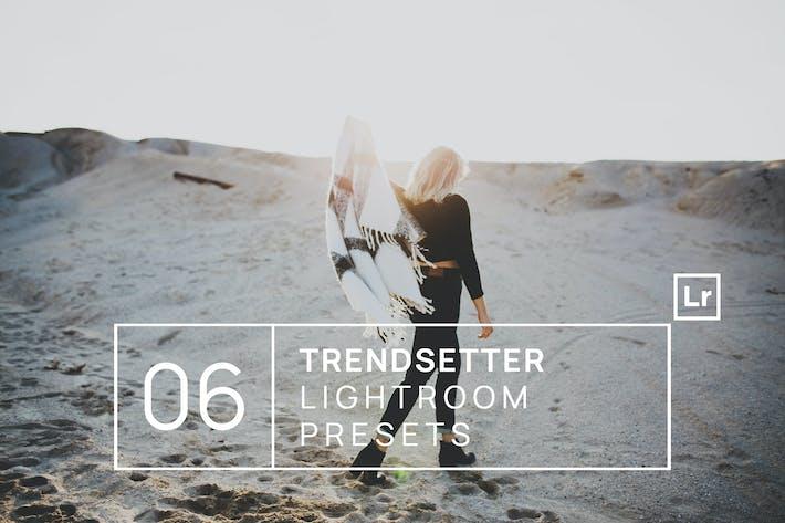 Thumbnail for 6 Trendsetter Lightroom Presets
