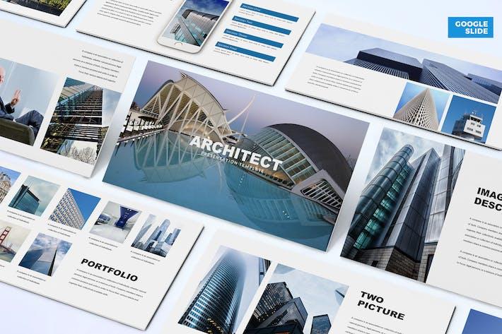 Архитектор - Шаблон слайдов Google