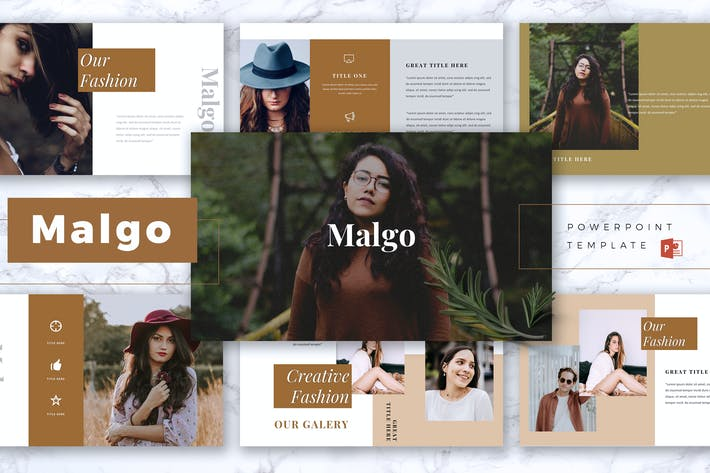 Cover Image For MALGO - Fashion Powerpoint Template