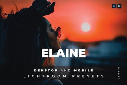 Пресет Elaine для настольных и мобильных устройств Lightroom