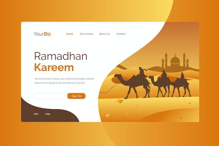 Thumbnail for Ramadhan Landing Page