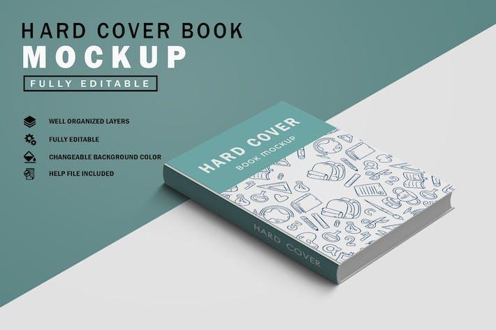 Cover Image For Hard Cover Book Mockup V.1