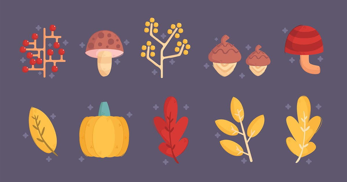 Download Autumn Elements Collection Pack by april_arts
