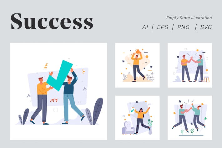 Thumbnail for Success Illustration for Empty state
