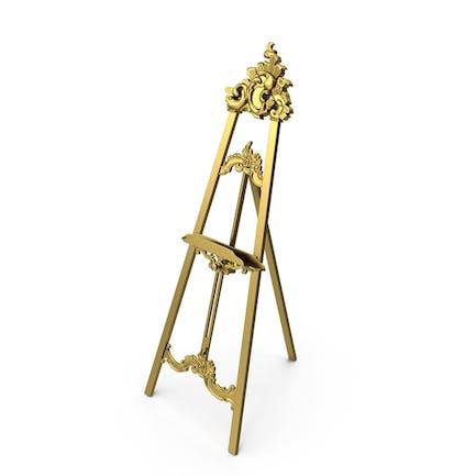 Barock Stativ Golden