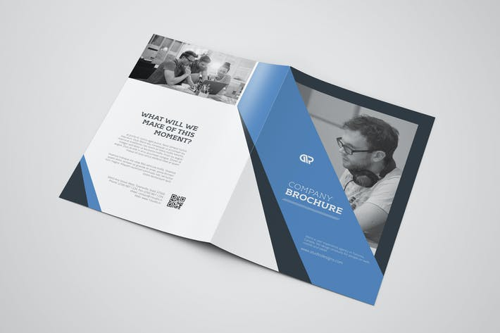 Thumbnail for Corporate Bifold Brochure #12