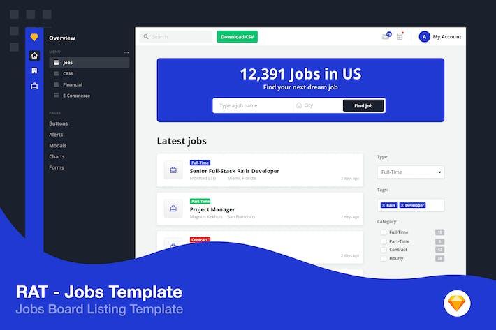 Jobs Template