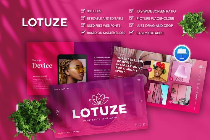 Lotuze — Ключевая заметка для творческого бизнеса