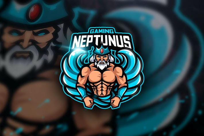 Thumbnail for Neptunus Gaming - Mascot & Esport Logo
