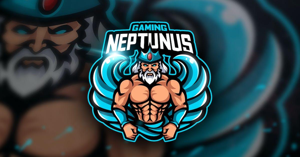 Download Neptunus Gaming - Mascot & Esport Logo by aqrstudio