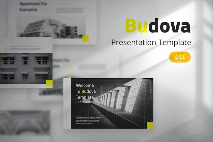 Thumbnail for Budova - Plantilla de diapositivas de Google para empresas