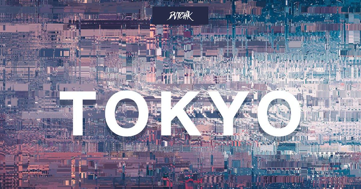 Download Tokyo   City Glitch Backgrounds   Vol. 07 by devotchkah