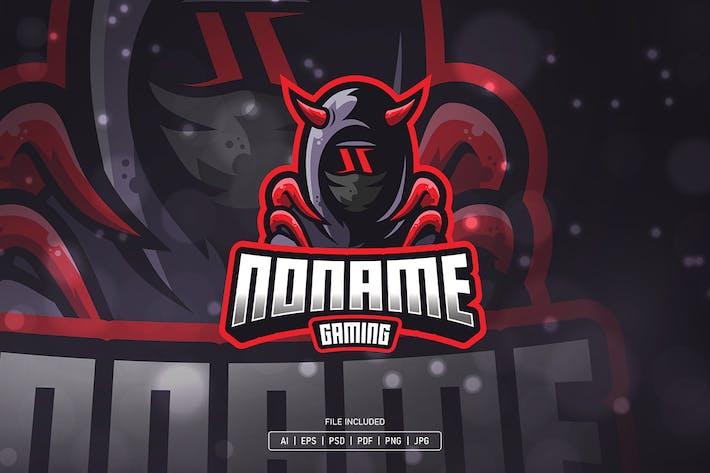 Thumbnail for Ninja with horn esport logo