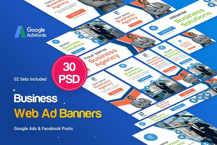 Cover Image For Multipurpose, Business, Startup Banners Ad