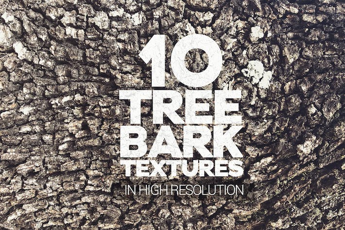 Thumbnail for Tree Bark Textures x10
