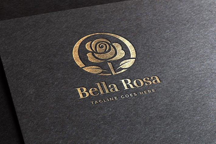 Bella Rosa Logo Template