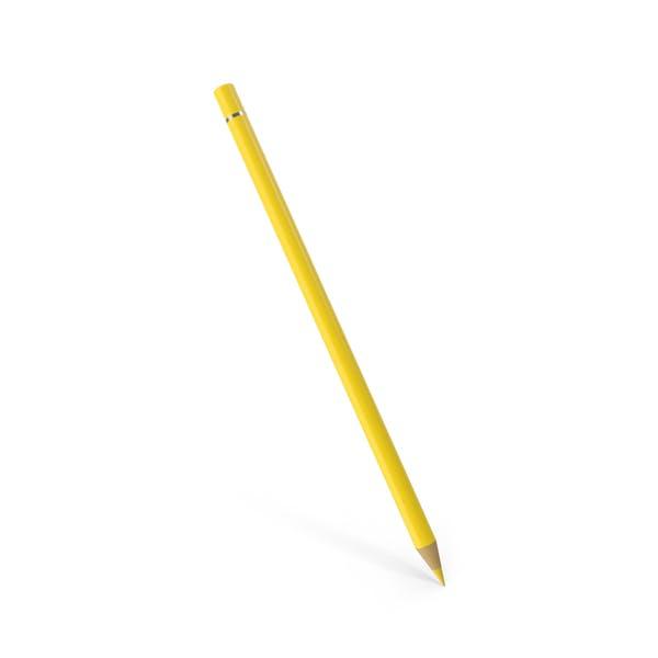 Цветной карандаш желтый