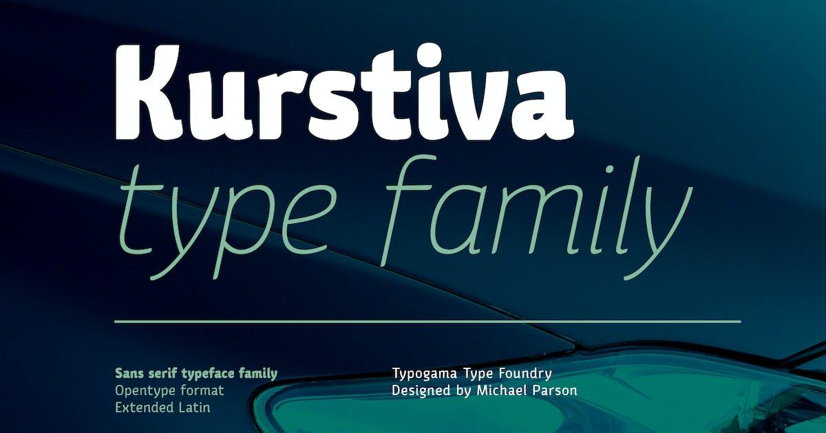 Download Kurstiva by Typogama