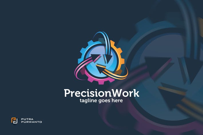 Thumbnail for Precision Work - Logo Template