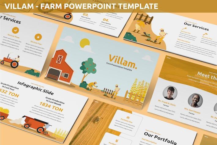 Villam - Farm Powerpoint Template