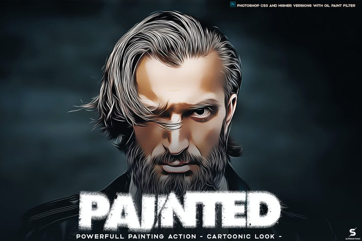 Painted PRO Painting Action