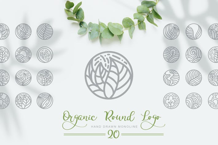 Thumbnail for Organic Round Logo