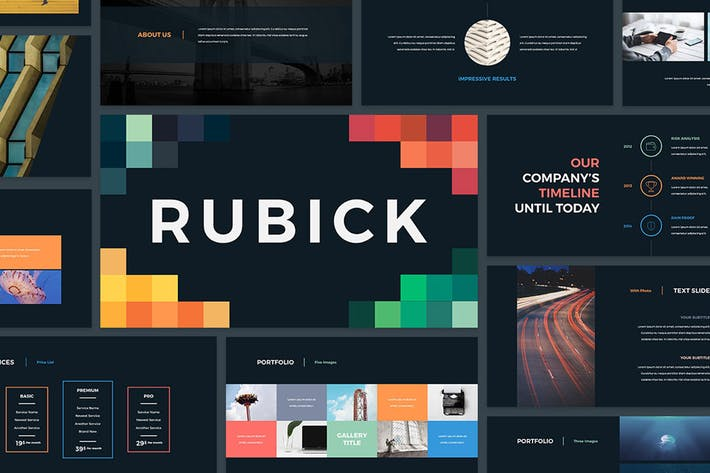 Download 400 powerpoint free presentation templates thumbnail for rubick presentation template toneelgroepblik Choice Image