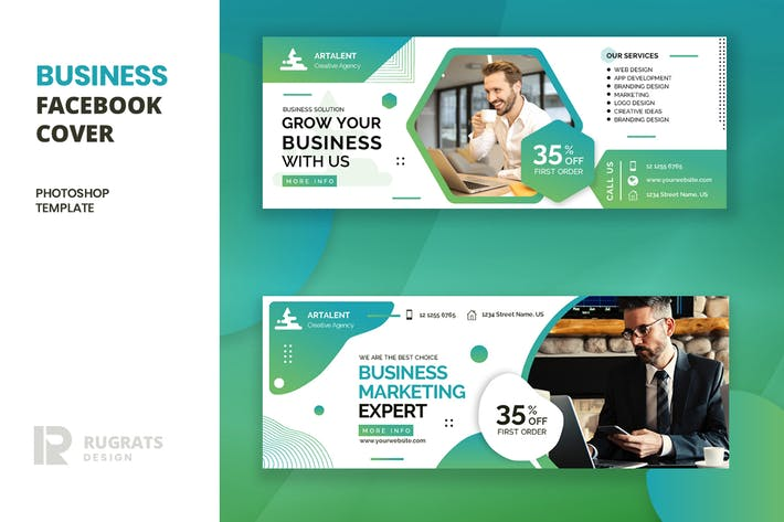 Business r11 Facebook Cover Template