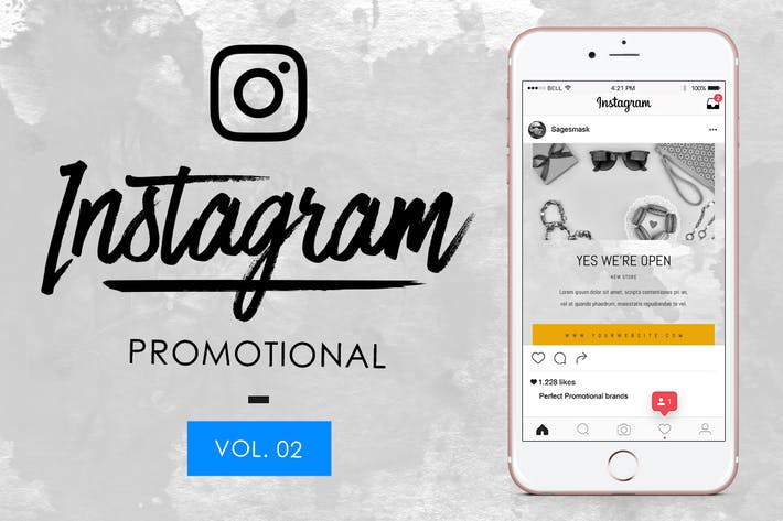 Thumbnail for 10 Instagram Promotional Vol. 2