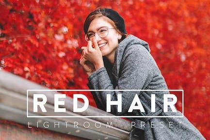 10 Redhead Lightroom Presets