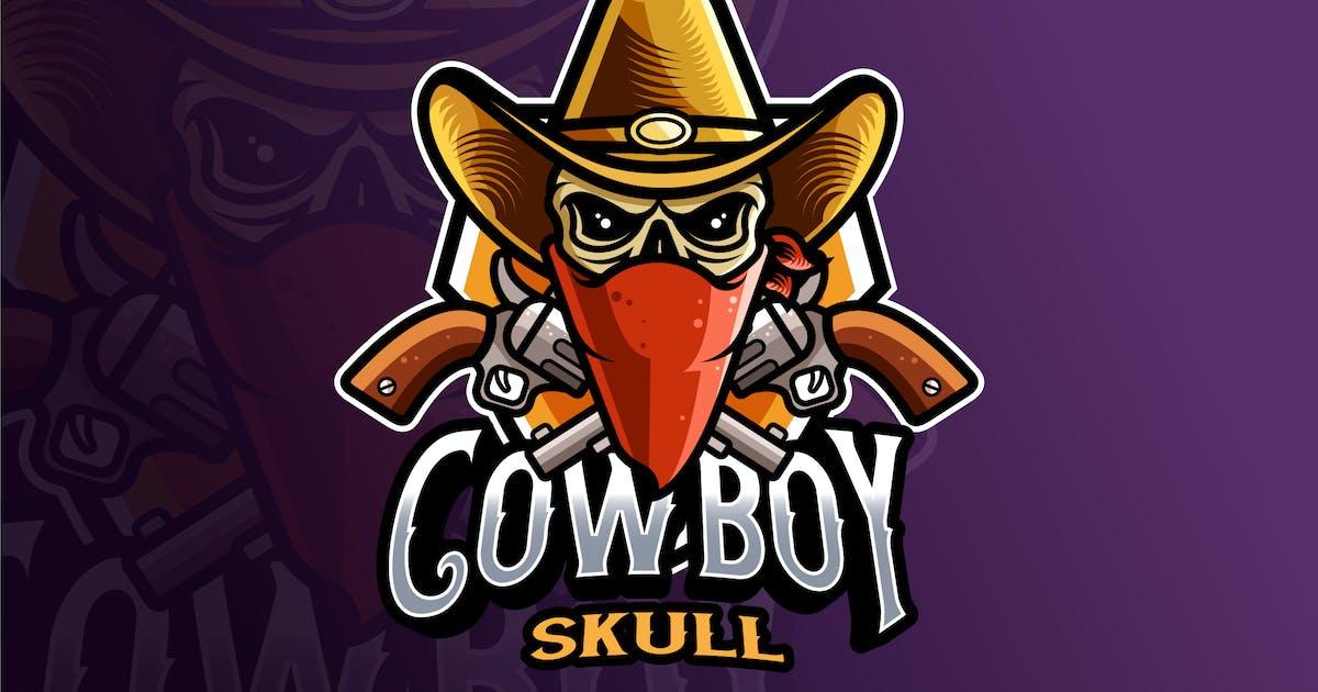 Download Cowboy Skull Logo Template by IanMikraz