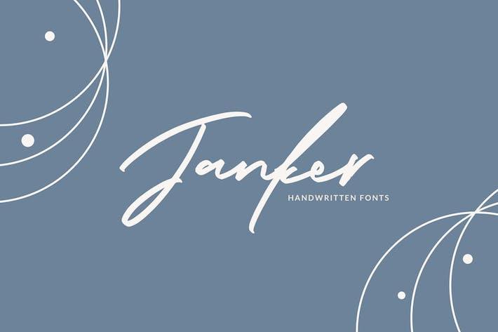 Thumbnail for Janker - Les Police manuscrites