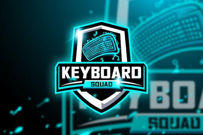 Thumbnail for Keyboard Squad - Mascot & Esport Logo