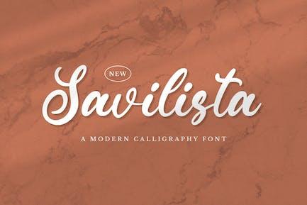 Savilista - Elegant Font