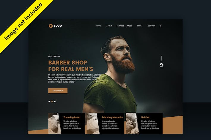 Thumbnail for Wehe 1 - Creative Web Header PSD Template