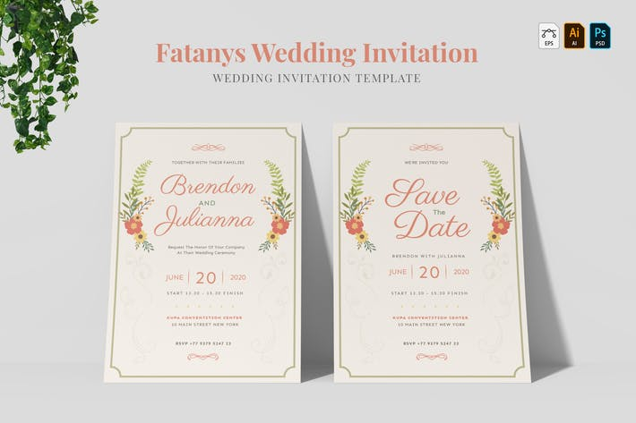 Thumbnail for Fatanys | Wedding Invitation