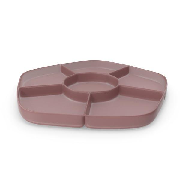 Thumbnail for Plastic 6 Compartment Bowl