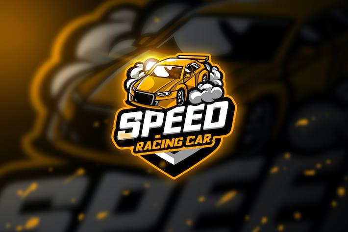 Thumbnail for Racing carz - Mascot & Esport Logo