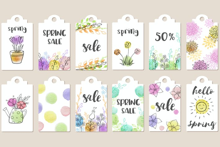 Cover Image For Spring Sale Tags Collection
