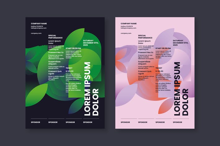 Thumbnail for Abstract Poster Template