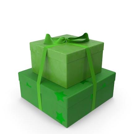Geschenke Grün