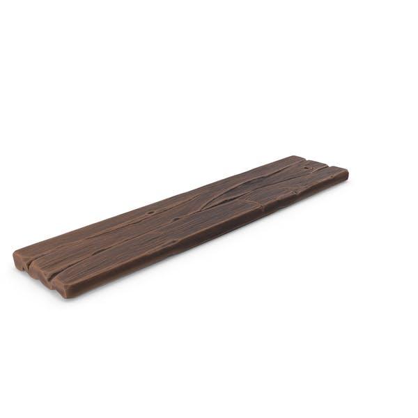 Стилизованная деревянная доска